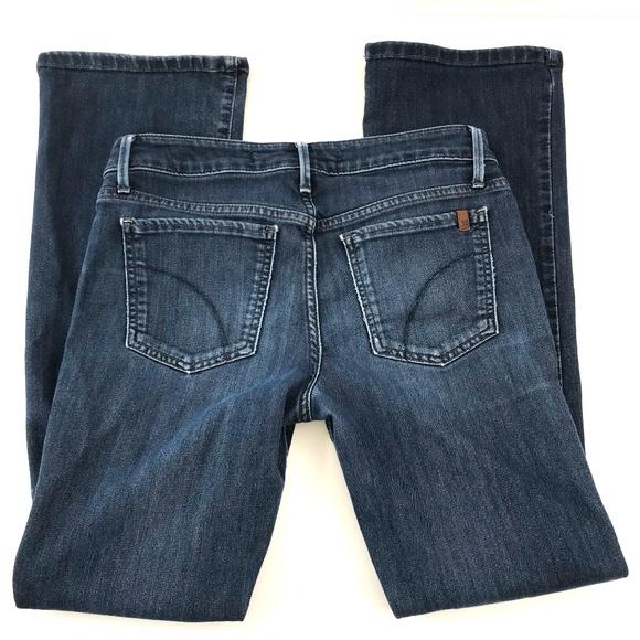 Joe's Jeans Denim - Joe's Jeans Petite Bootcut Slim Dark Wash 26